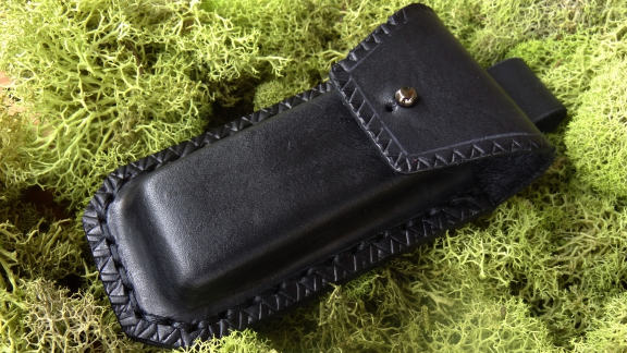 Fallkniven DC3 Leather Pouch for Bushcraft / Outdoors
